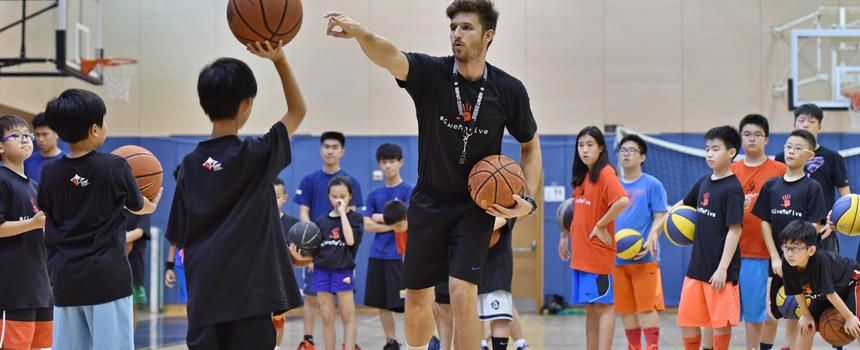 GMF Basketball Camp 2015 籃球訓練營2015  By Coach Javier Terren Morales 27-31 July 2015 fb: GMF Sports Academy