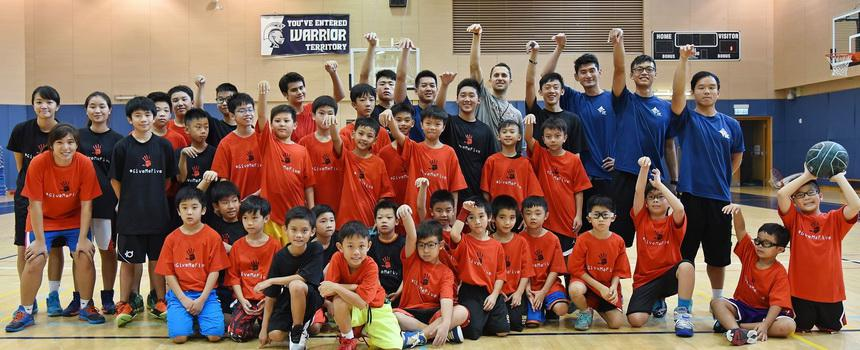 GMF David Nurse Basketball Camp 2015 - Hong Kong 