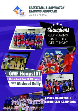 GMF Sports Program 2016, Mar - Apr 2016 (Season 2)