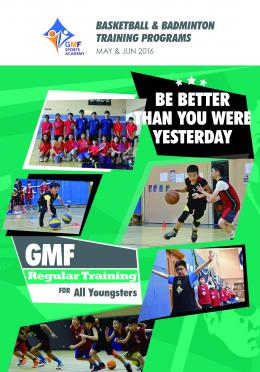 GMF Sports Program 2016, May - June 2016 (Season 3)