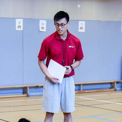 GMF Sports Academy BASKETBALL Coaches - Stephen LEUNG / COACH DIRECTOR (JUNIOR)